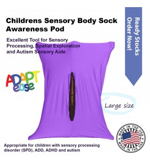 Adapt-Ease Sensory Body Sock Awareness Pod ~ Large