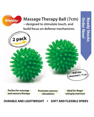 2 pack Spiky Massage Balls (7cm)