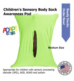 Adapt-Ease Sensory Body Sock Awareness Pod ~ Medium