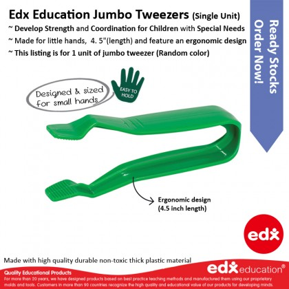Edx Education Jumbo Tweezer (1 unit, any color)