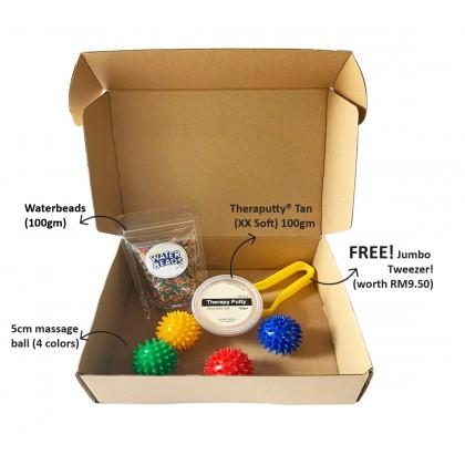Sensory Surprise Pack! Sensory items in one box! Free! Jumbo Tweezer